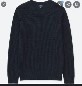 Uniqlo middle Gauge Crew Neck Long sleeve Sweater